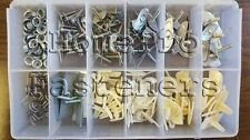 GM CHEVY BUICK PONT DOOR BODY EXTERIOR SIDE MLDG FASTENERS CLIPS 156pc FREE SHIP