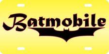 Batmobile Aluminum License Plate Car Tag Auto Batman Dark Knight Movie Funny
