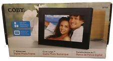"COBY DP700BLK 7"" DIGITAL PHOTO FRAME, Open box, Complete In Wrapping."