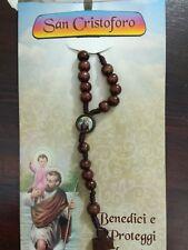 San Cristoforo - Confezione con Decina e Preghiera