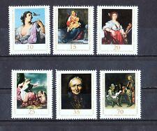 Gemälde -Kompl-Satz-Alte Meister-DDR-Postfrisch