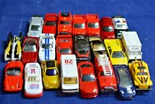 Maisto Lot of 23 Cars, Pickup Trucks and Emergency Vehicles