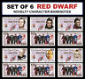 SET OF 6 - Red Dwarf Novelty Character Banknotes