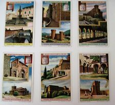1926 Trade Card Set - Liebig's Fleisch-Extract Architectural Treasures of Lazio*