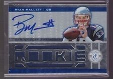 2011 Totally Certified Ryan Mallett On Card Auto Jersey Rc Serial # to 299