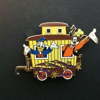 Character Train Collection Mystery Caboose Only Donald & Goofy Disney Pin 53036