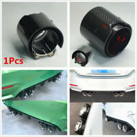 71MM-93MM Glossy Real Carbon Fiber Exhaust Tip Pipe For BMW M Performance M2-M6