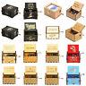 Retro Wooden Music Box Antique Hand Crank Musical Box Crafts Ornament Decor Gift