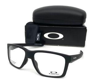 Oakley MAINLINK OX8128-0157 Matte Black/ Demo Lens 57mm Eyeglasses