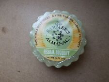 Yankee Candle Usa Rare The Old Farmers Almanac Herbal Bouquet Wax Tart..
