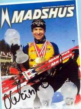 Ole Einar Björndalen (12) Autograph Picture Large Format 15 x 21 + Ski AK FREE