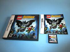 Lego Batman (Nintendo DS) Lite DSi XL 3DS 2DS w/Case & Manual