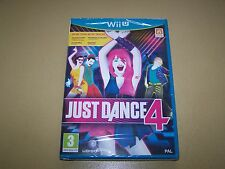 Just Dance 4 Nintendo Wii U **New & Sealed**