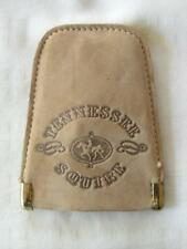 JACK DANIELS TENNESSEE SQUIRE LEATHER KEY RING
