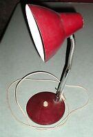 lampe de bureau flexible années 70, design vintage