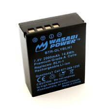 Wasabi Power Battery for Olympus BLH-1 (Fully Decoded)