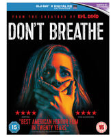 Don't Breathe Blu-Ray (2017) Jane Levy, Alvarez (DIR) cert 15 ***NEW***