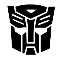 Decal Vinyl Truck Car Sticker - Transformers Autobots Symbol