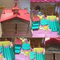 My Little Pony G1 UK European Pink Show Stable Almost Complete Vintage 80s