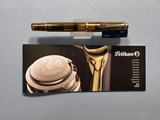 Pelikan M200 Cognac Fountain Pen (F) Nib