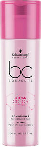 Schwarzkopf Professional Bc Ph4.5 Color Freeze Conditioner Pink 200 ml