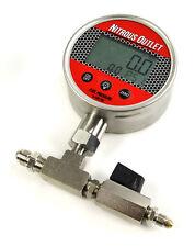 Nitrous Outlet Digital Flowing Fuel Pressure Test Gauge (0-100psi)