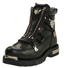 Harley-Davidson® Men's Brake Light Black Leather Motorcycle Boots D91680