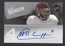 Mark Barron 2012 Press Pass Signings On Card Auto Alabama Tide