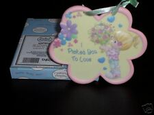"""NEW PRECIOUS MOMENTS """"I PICKED YOU TO LOVE"""" GIRL PLAQUE"""