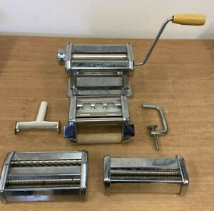 Atlas Model 150 De Luxe Pasta Making Machine & Marcato Accessories- Italy (D4)