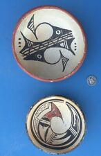 New Mexico Native American Indian Pottery 2 Pots Good Designs