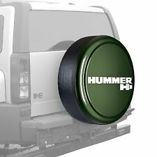 "33"" Hummer H3 Logo - Rigid Tire Cover - Painted - Shadow Green"
