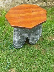 Manequin Leg Wine/occasional Table