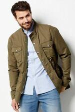 M&Co Mens Khaki Four Pocket Country Jacket RRP £55