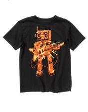 Nwt sz M 7 8 Gymboree Crazy8 Soccer Star Robot Amp Playing Electric Guitar Top