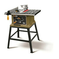 "Rockwell ShopSeries SS7202 10"" 15 Amp Table Saw with Stand"