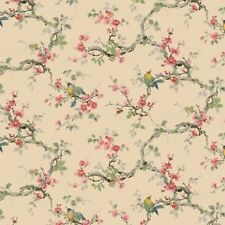 Dollhouse 1:12 Scale Wallpaper Vintage Songbirds by Bradbury and Bradbury