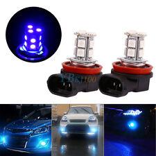 2 Pcs H11 H8 H9 Car LED Fog Light Bulbs DRL Driving Lamp Bulbs Deep Blue AP