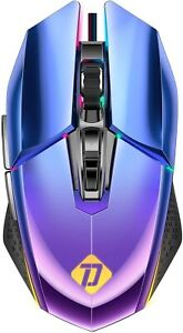 Gaming Mouse G04 10000 Adjustable DPI  7 programable buttons RGB