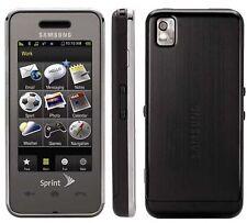 Samsung M800 Samsung Instinct Sprint Smart Cell Phone Bluetooth CDMA 2MP Camera