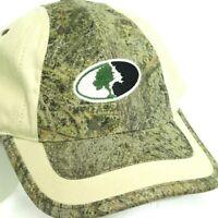MOSSY OAK Cross Country Baseball Cap Hat Camo Cotton Embroidered Logo Strapback