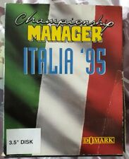PC- CHAMPIONSHIP MANAGER ITALIA '95- IBM- VERY RARE