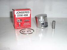 JONSERED CS2258, CS2260 PISTON KIT 46MM REPLACES PART # 5052155502 , NEW