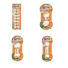 8 In 1 Dog Puppy Delights Chicken Rawhide Dental Chew Bone Treat Snack