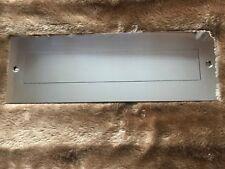 En acier inoxydable poli Boîte aux lettres plaque arrière