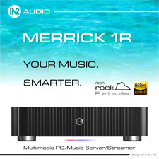 More details for music streamer/server with roon (rock) 192khz 32 bit hd audio