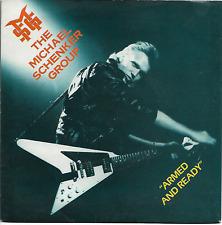 THE MICHAEL SCHENKER GROUP - ARMED AND READY / BIJOU PLEASURETTE -1980 HARD ROCK