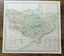 Map Of England Kent.England Kent Antique Europe County Maps For Sale Ebay