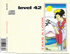 LEVEL 42 - Take a look CD SINGLE 3TR Europe 1988 (POLYDOR)