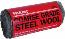 More details for prodec steel wool wire abrasive metal prep decorating course grade  400g roll